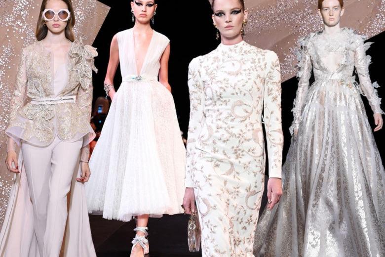 Gli abiti da sposa dalle sfilate Haute Couture 2019