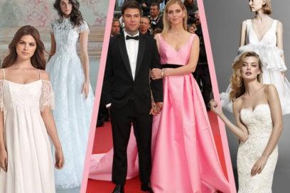 L'abito da sposa di Chiara Ferragni