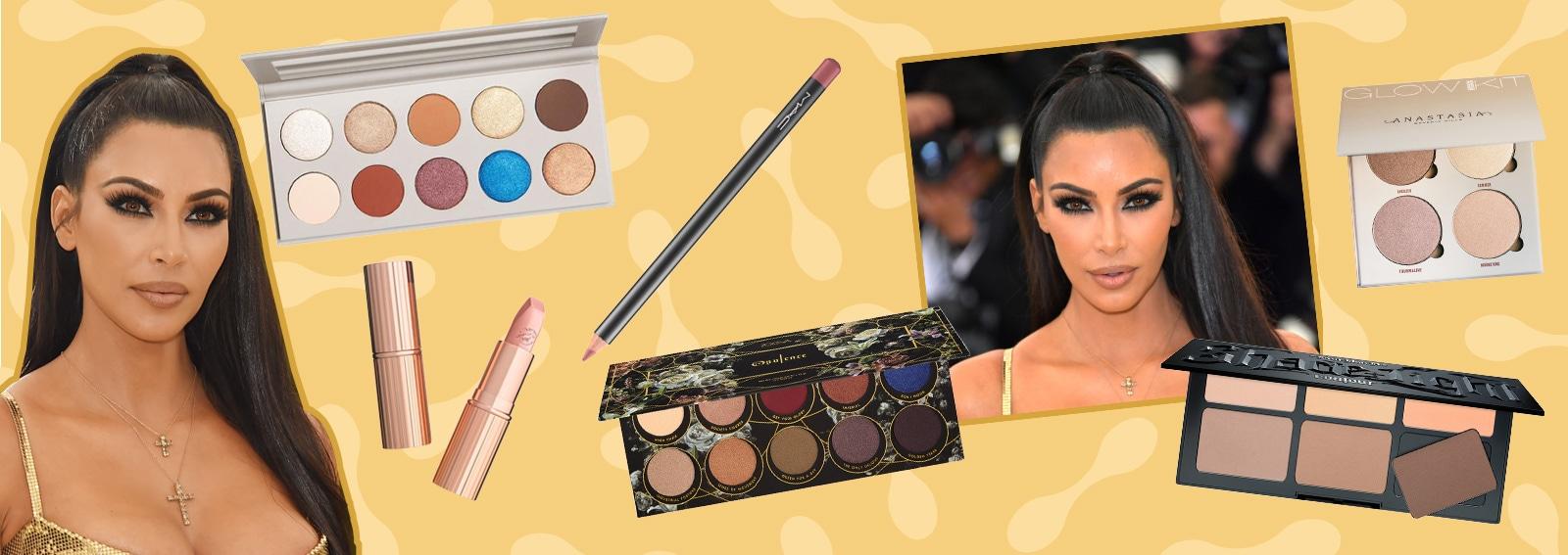 Copia il trucco di Kim Kardashian con occhi intensi e viso flawless