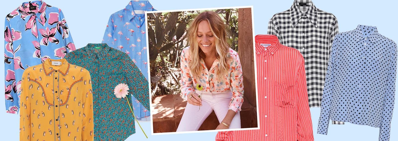 Camicie stampate: le versioni più colorate e cool per l'estate