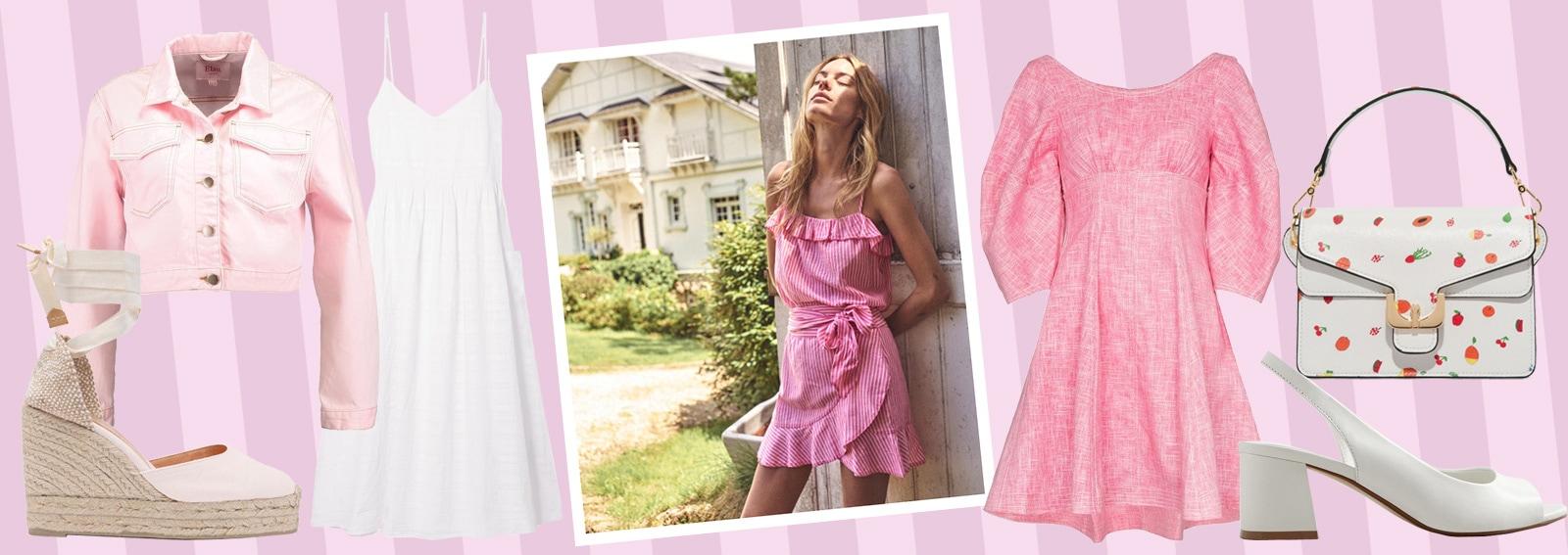 Colori Da Abbinare Al Rosa come abbinare il colore rosa: 5 look per l'estate 2018