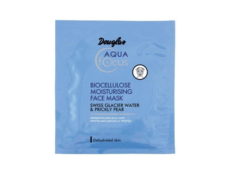 Douglas_Aqua Focus_Biocellulose Moisturising Face Mask