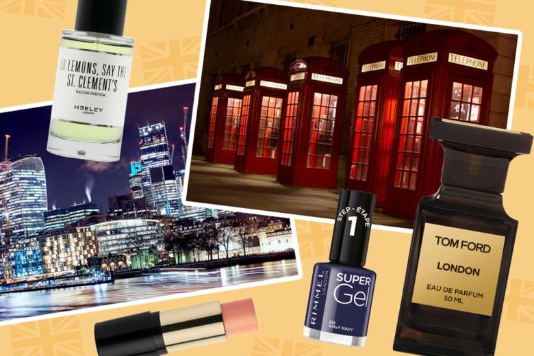 Beauty case per Londra: 16 prodotti e l'indirizzo da avere con sé