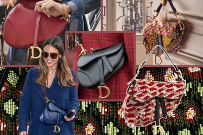 Dior Saddle Bag is back!