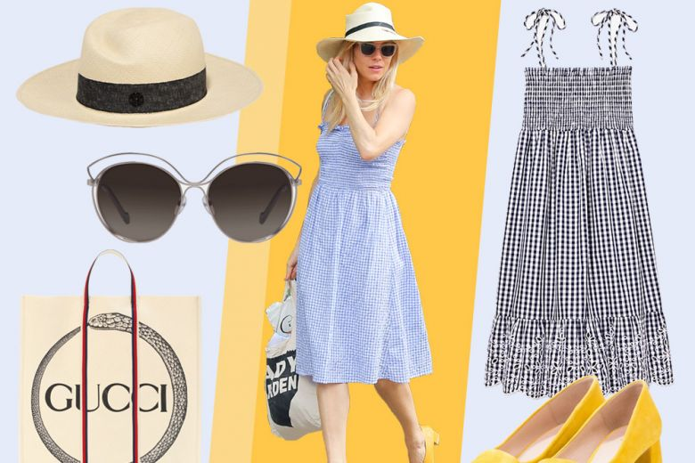 Sienna Miller: il dress code più chic per l'estate in città. Get the look!