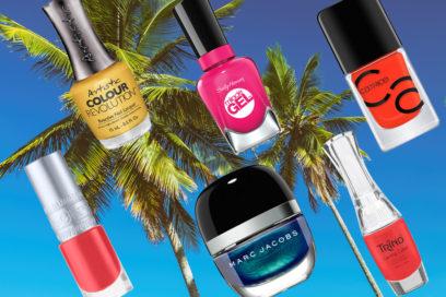 Smalti dai colori tropical per questa estate