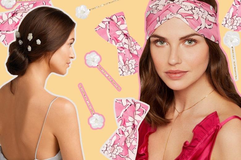 13 accessori capelli glam che trasformano l'hairlook