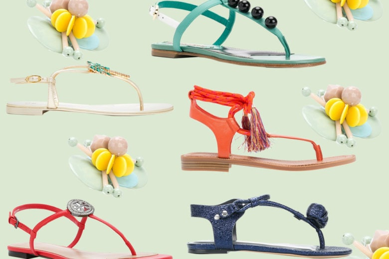 Infradito: 10 modelli carini e super chic per l'estate