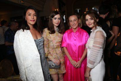 Jessie Ware, Lily Collins, Miuccia Prada & Jenna Coleman