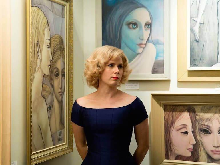 Margaret Keane vestitio blu