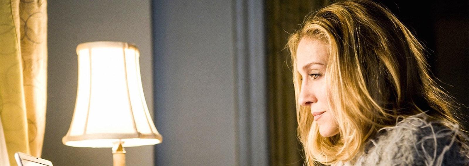 Sarah Jessica Parker capelli biondi
