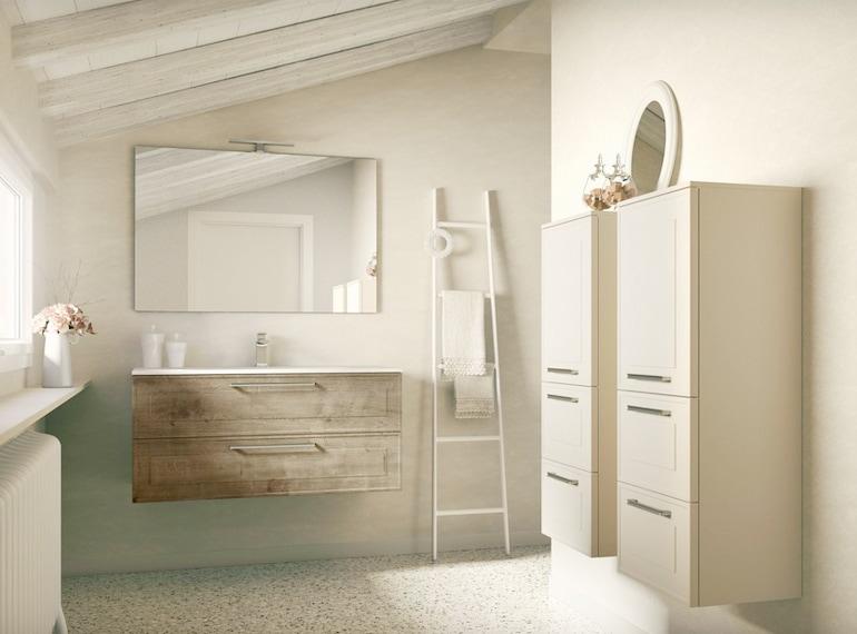 bagno moderno arredamento 3