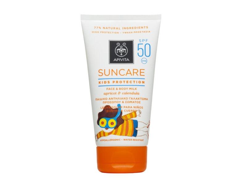 beauty-estivo-cosa-mettere-nella-borsa-da-spiaggia-KIDS PROTECTION FACE_BODY MILK SUNCARE SPF50