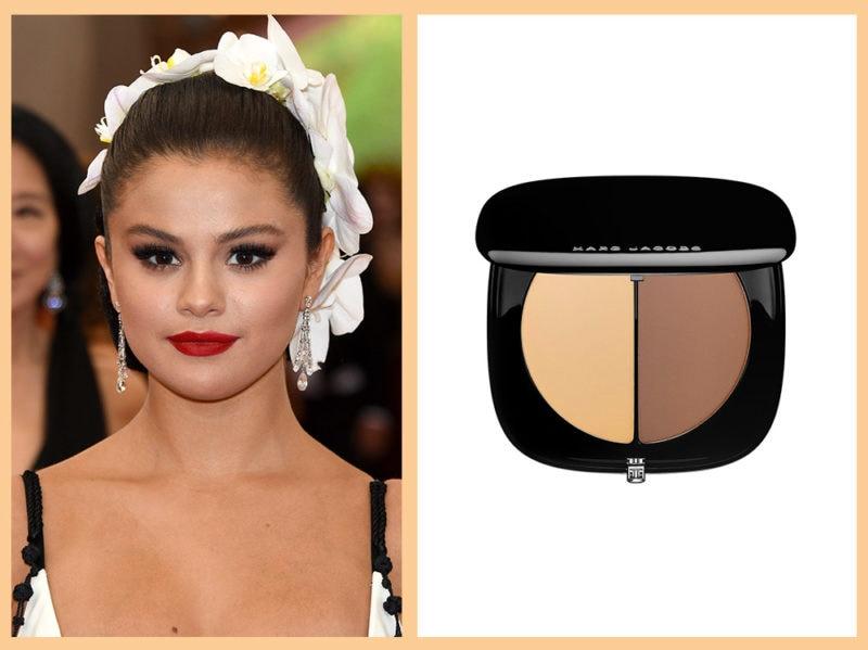 contouring-viso-tondo-marc-jacobs-instamarc-contour-powder-Selena-Gomez