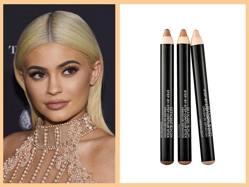 contouring-viso-tondo-smashbox-contour-stick-Kylie-Jenner