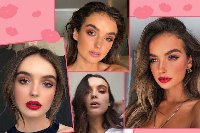 Natalie Sole: i beauty look della modella australiana