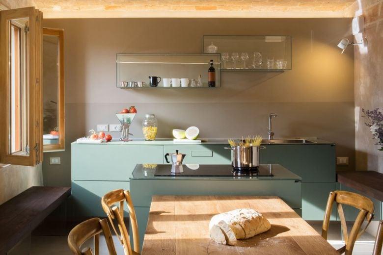 Gli abbinamenti di colori più belli nell'arredamento della cucina