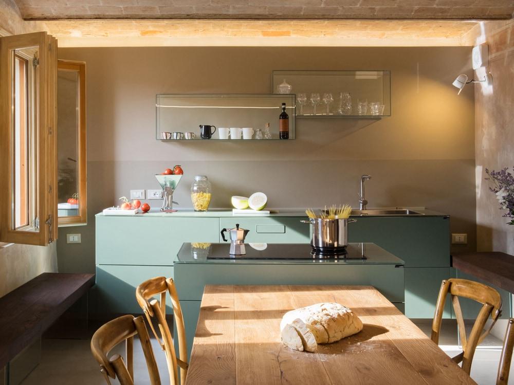 Gli abbinamenti di colori più belli nell\'arredamento della cucina