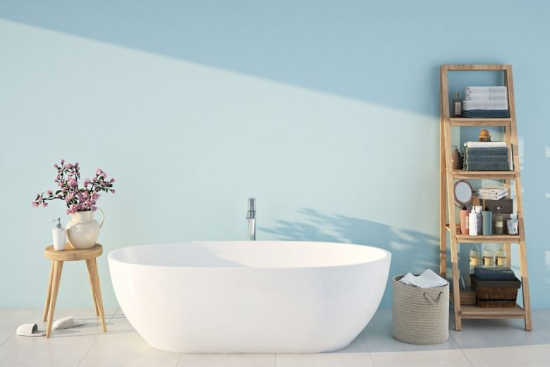 Arredare un bagno piccolo con il colore: 7 idee da copiare