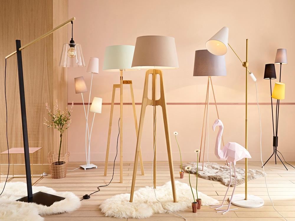 Maisons du monde 10 lampade dal nuovo catalogo dedicato for Lampada piantana maison du monde