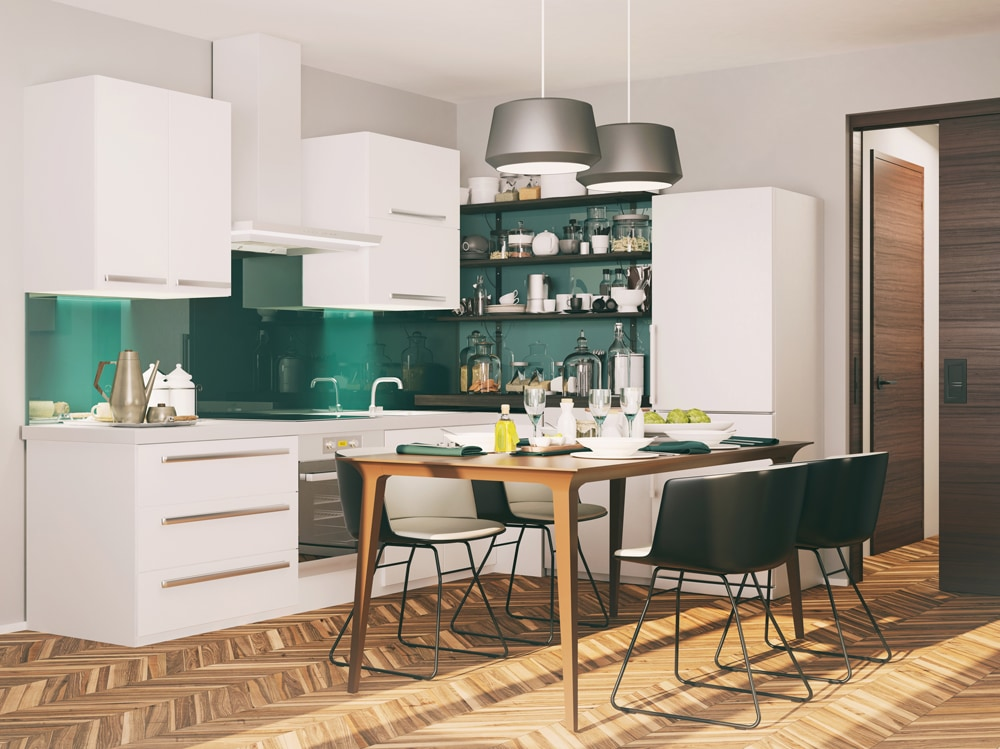 Colori pareti 10 opzioni ideali per la cucina - Colori cucina pareti ...