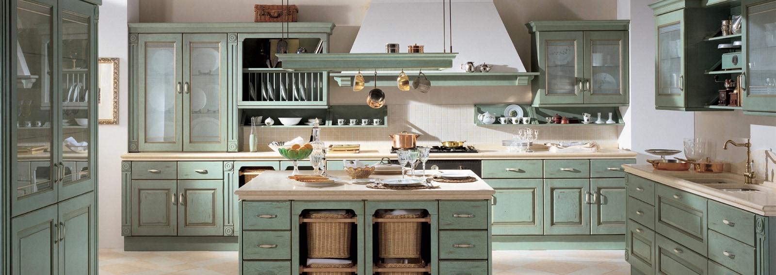 Cucine rustiche come sceglierle e arredarle senza errori - Cucine senza elettrodomestici ...