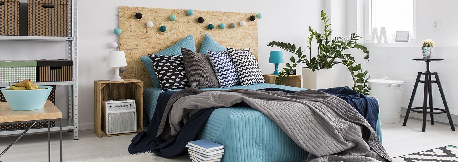 Parete Dietro Letto Idee 10 idee originali per rinnovare la parete dietro al letto