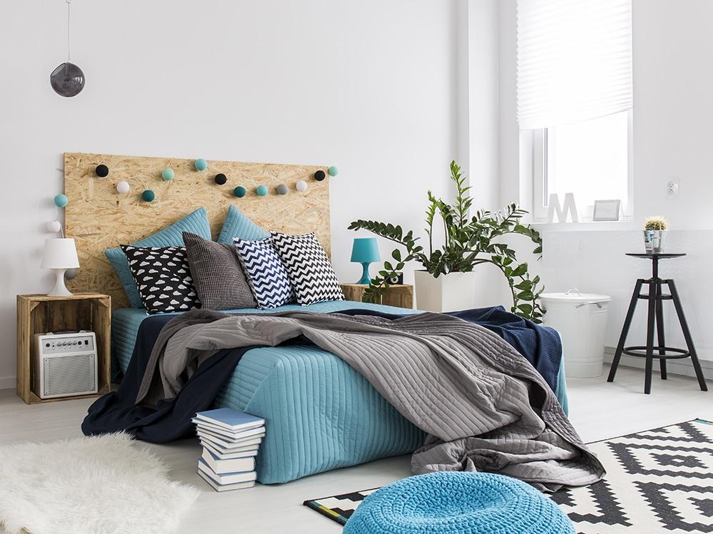 10 idee originali per rinnovare la parete dietro al letto for Idee originali per la casa