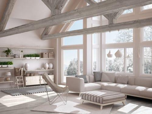 Tende Per Soffitti Alti : Idee originali per rendere il soffitto protagonista della casa