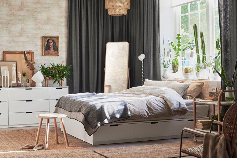 Letti IKEA: 10 modelli per ogni stile
