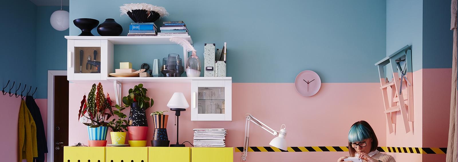 Mensole ikea come utilizzarle in modo creativo nell arredamento della casa - Casa delle bambole ikea ...