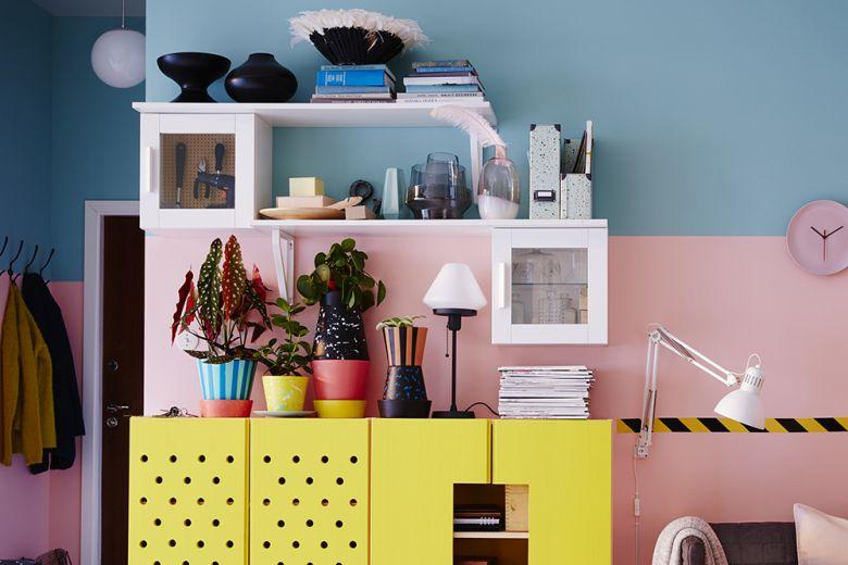 Mensole IKEA: come utilizzarle in modo creativo nell'arredamento della casa