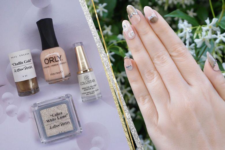 Nail art gioiello: il tutorial by Non solo Kawaii