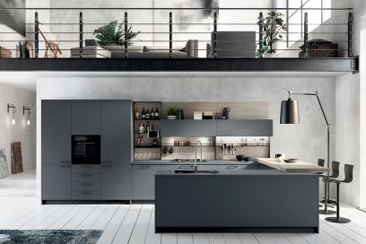 Stile industriale le cucine pi belle grazia - Febal cucine spa ...