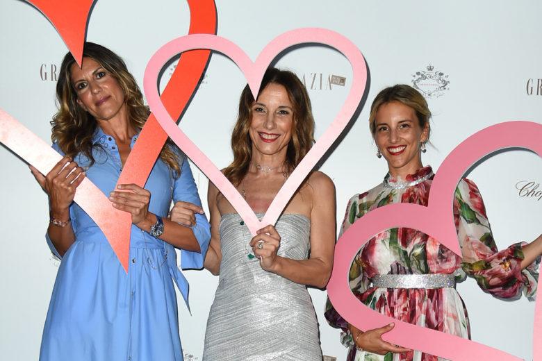 L'evento di Chopard e Grazia per la collezione Happy Hearts
