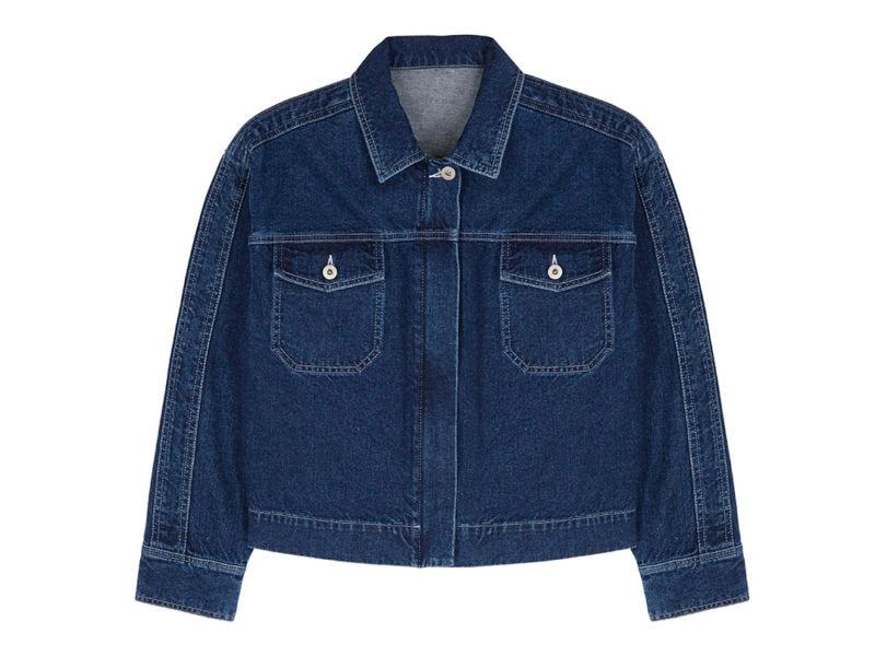 find. Boxy Denim Jacket £30.80 _ €33.60