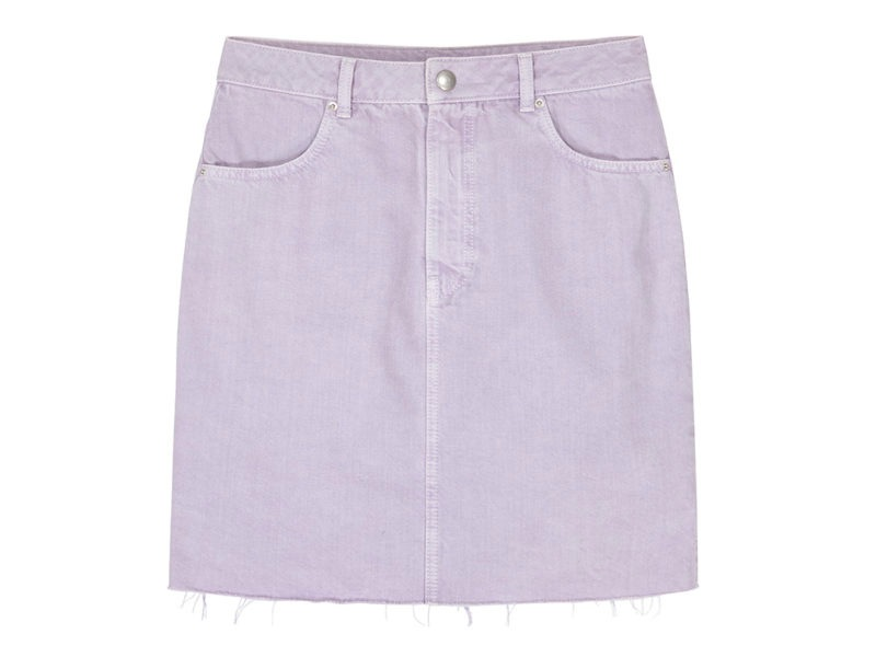 find. Lilac Denim Skirt £18.20 _ €21.00