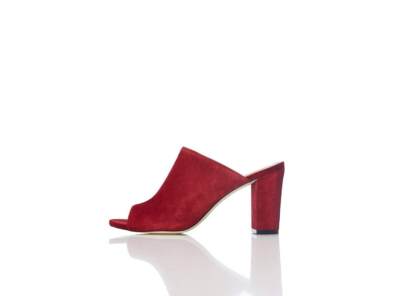 find. Red Suede Mules £27.30 _ €27.00