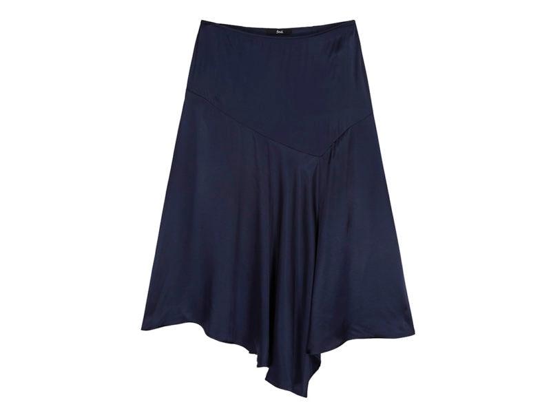 find. Satin Asymmetric Skirt £23.80 _ €26.60