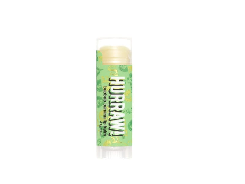 hurraw lip balm banana baobab