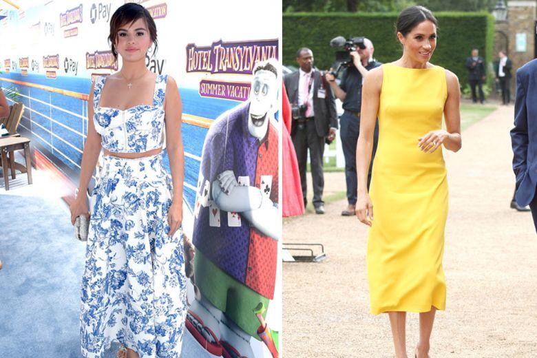 Selena Gomez, Meghan Markle e le altre star meglio vestite della settimana