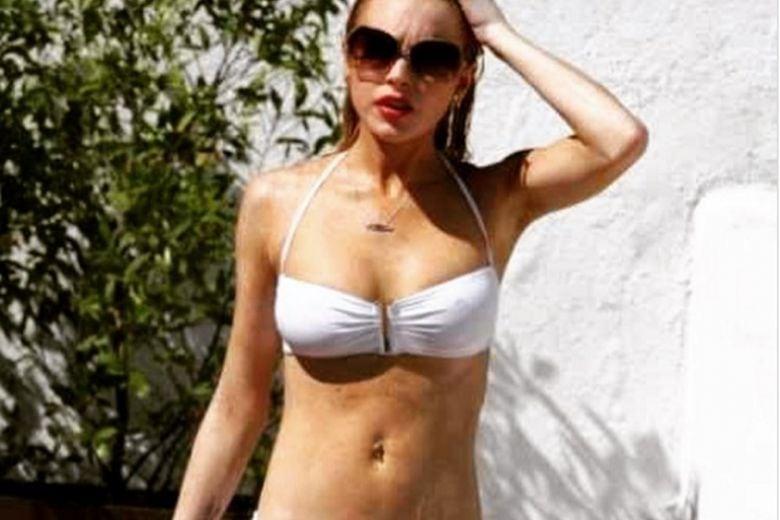 Lindsay Lohan si è rimessa in forma: ecco come