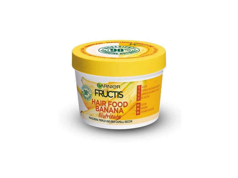 maschera capelli banana fructis