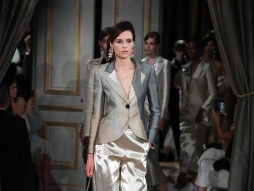 Giorgio PrivéLa 2019 Couture Sfilata Haute Inverno Autunno Armani 76ygYbf