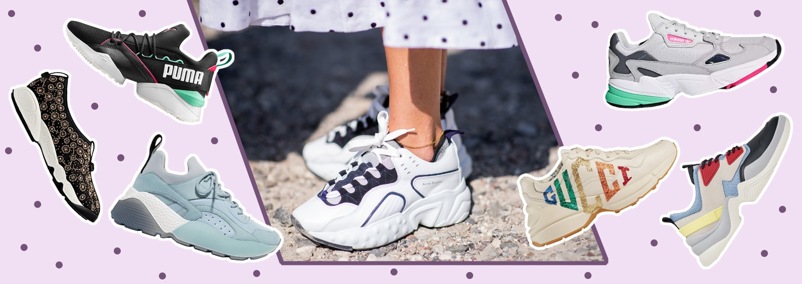 Chunky Sneakers 2018 Modelli L'autunno Da Per I Scegliere TBT8wn1q7r