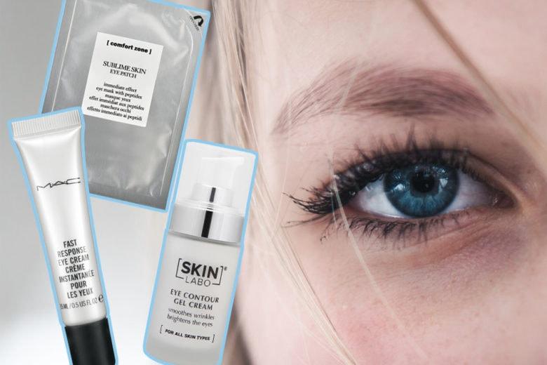 Occhi gonfi: i prodotti che aiutano ad avere uno sguardo riposato
