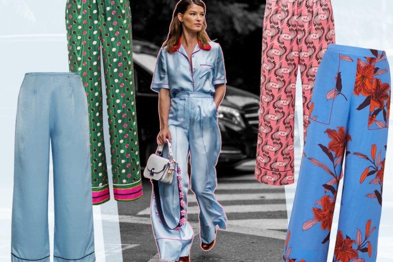 Pantaloni pajama: i modelli più chic della stagione