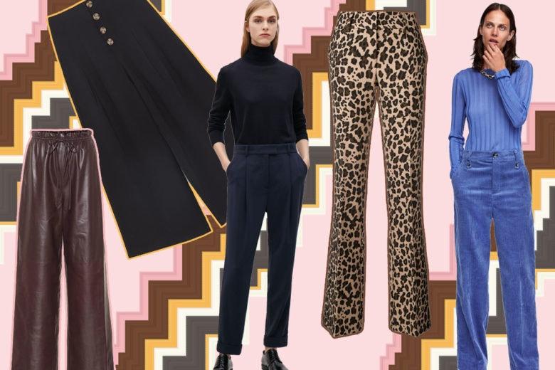 Pantaloni: 7 modelli must su cui investire quest'autunno