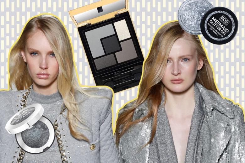 I prodotti di bellezza grigi per un beauty case glamour