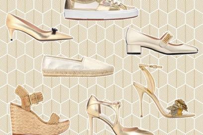 Sandali e scarpe dorate: i modelli più glam dell'estate